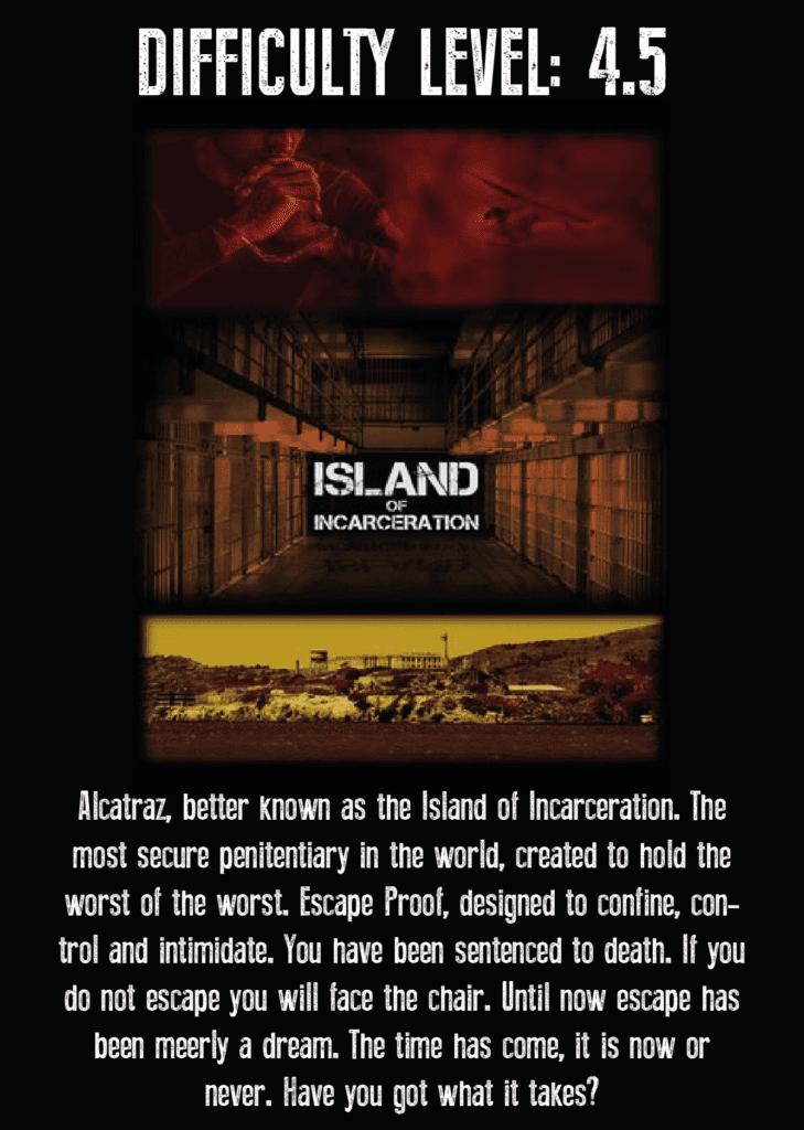 Island of Incarceration Escape Room